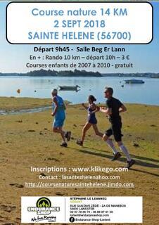 Course Santez Helen- Sainte Helene sur mer - Dimanche 2 septembre 2018