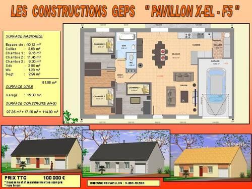 Deux constructions de maisons + Terrains constructibles à CHANGE - 72 - SARTHE