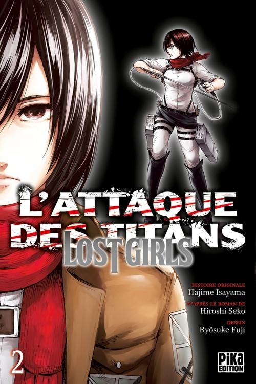 L'attaque des titans - lost girls - Tome 02 - Hajime Isayama & Hiroshi Seko & Ryôsuke Fuji