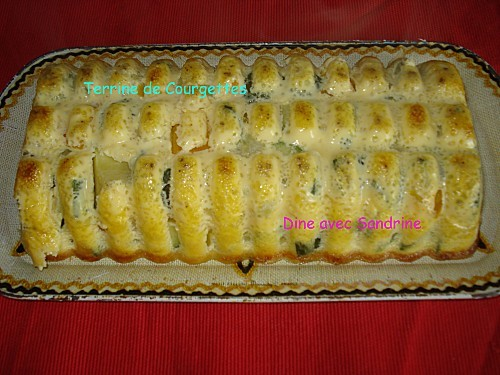 Terrine de Courgettes 7