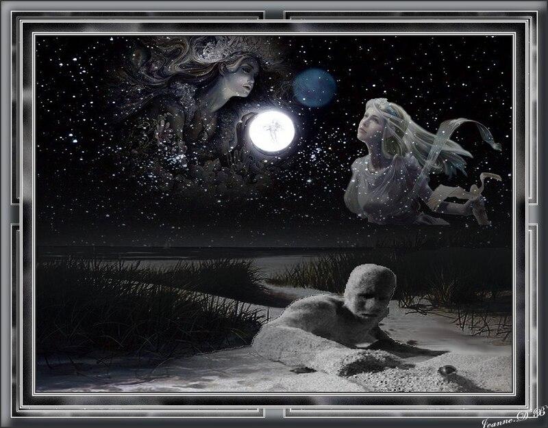 Etrange nuit de lune bleue