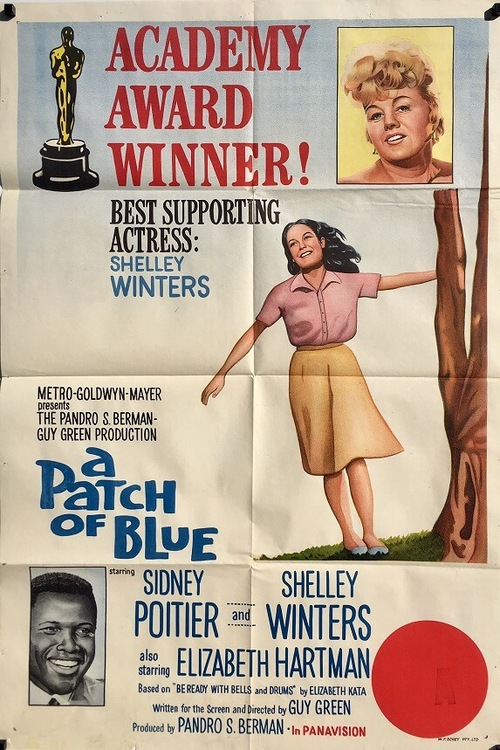 A PATCH OF BLUE BOX OFFICE USA 1966