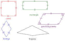 Synthèse des quadrilatères