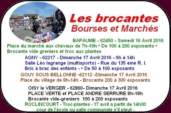 Brocantes, manèges, soirée disco, expo photos, etc. ce sont les festivités à Arras et ses environs ce week-end