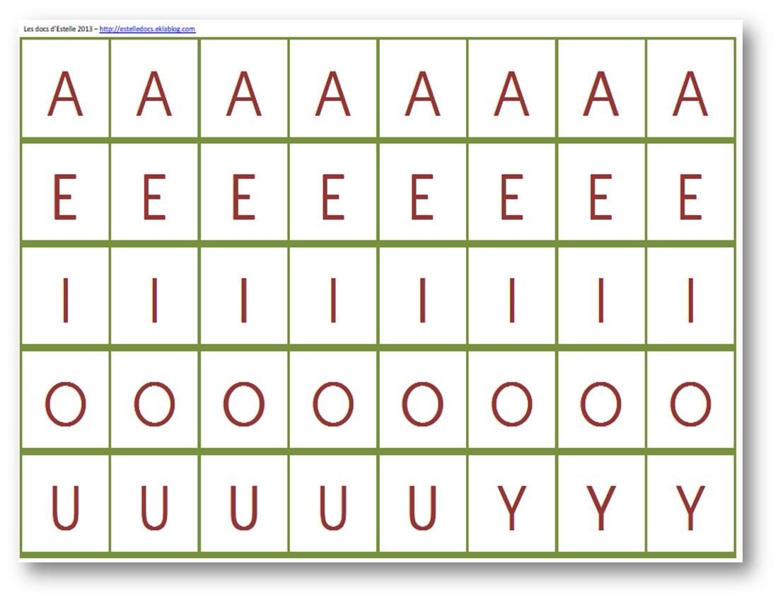 Lettres mobiles plastifier et d couper les docs d 39 estelle - Alphabet a decouper gratuit ...