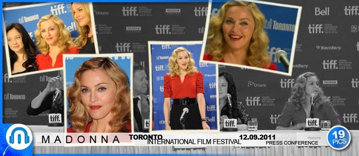 Madonna | North-American WE Premiere, Toronto | 12.09.2011
