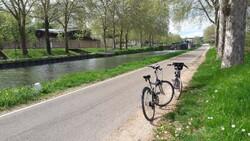 Circuit Belgique en camping car Avril 2018 Balade à vélo à Dijon