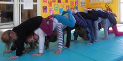 L'école de Varambon bénéficie d'un second cycle d'arts du cirque un an après.