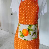 Orange à pois