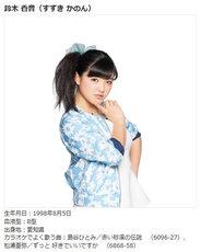 Morning Musume LIVE DAM Karaoke kanon suzuki