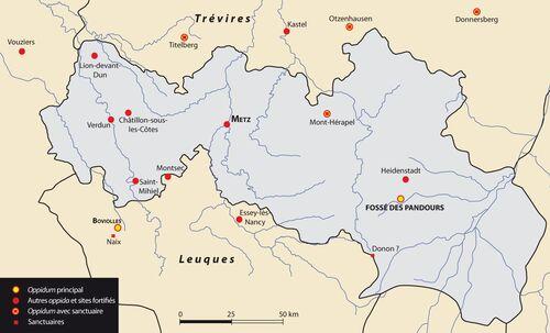 L'oppidum celtique de Metz  (IIe-Ier siècles av. J.-C.)