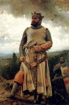 Alphonse Ier le Batailleur(par Francisco Pradilla y Ortiz, 1879).