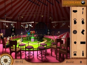 Find the objects in circus