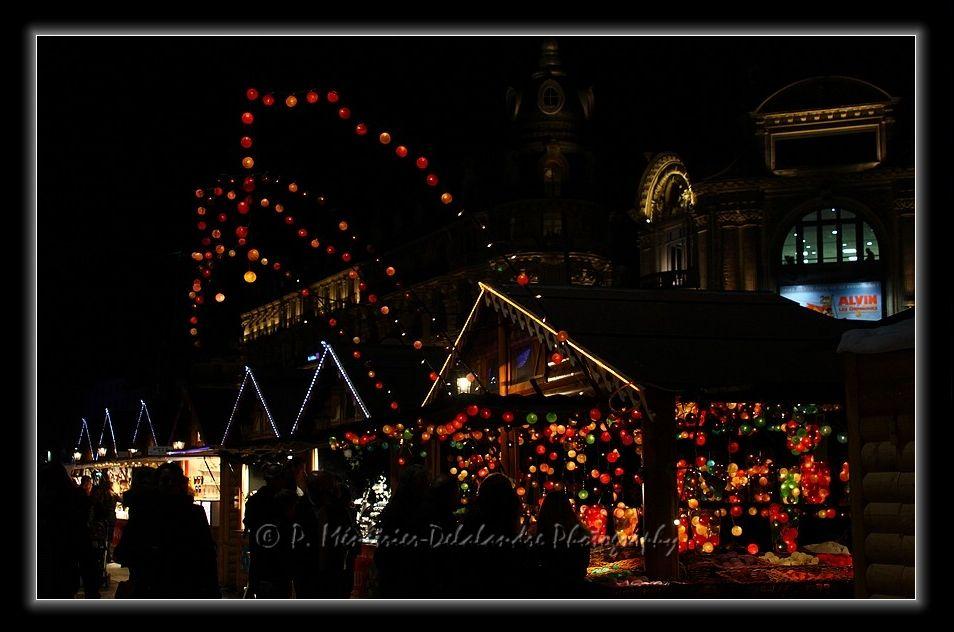 Marché de Noël à Montpellier... (Place de la Comédie)