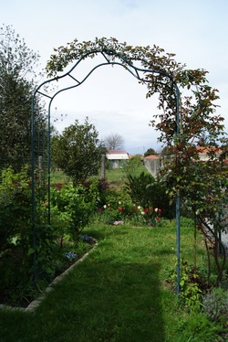 Décorations métalliques de jardin