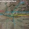 Borne frontière 232 Carte IGN 1346 ET