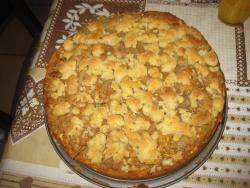 L'Apfelkuchen mit geraspelten etc...