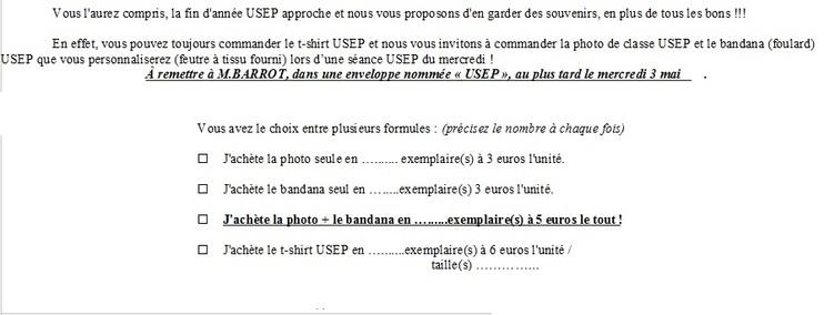 """""""Photo de classe"""" USEP"""