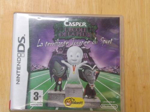 Jeu de DS Casper, l'école de la peur
