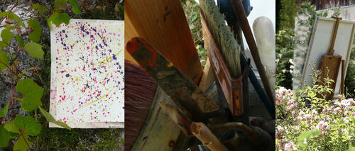 Journées Art dans les jardins de l'Atelier