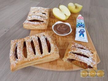 Jalousies aux pommes et crème de marrons