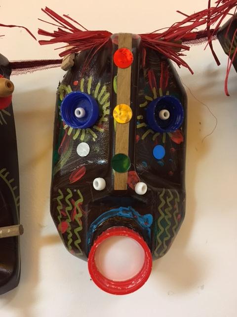masque africain en maternelle