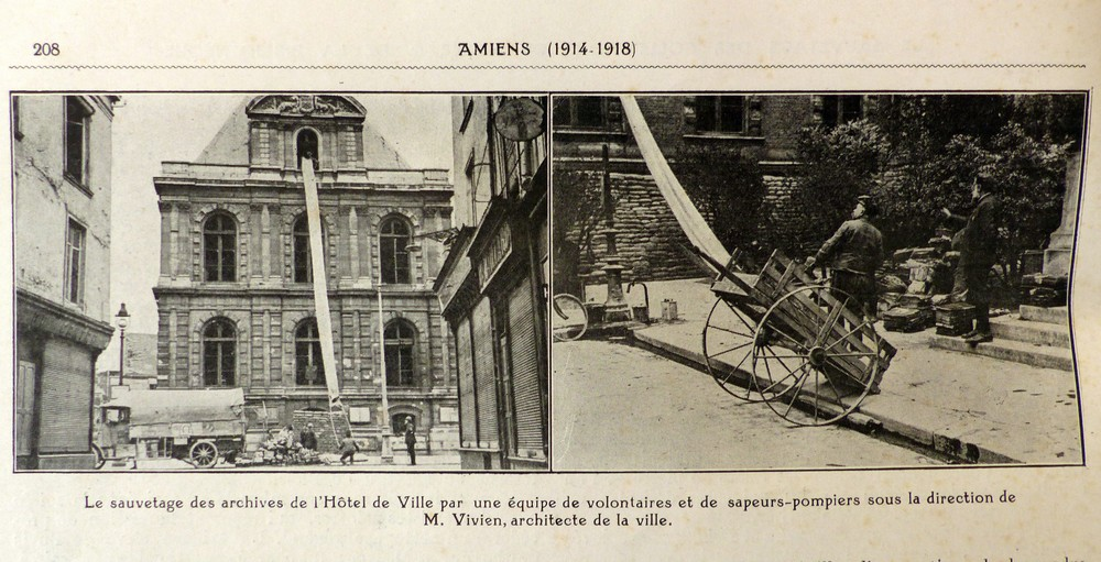 Amiens, de 14/18 à nos jours