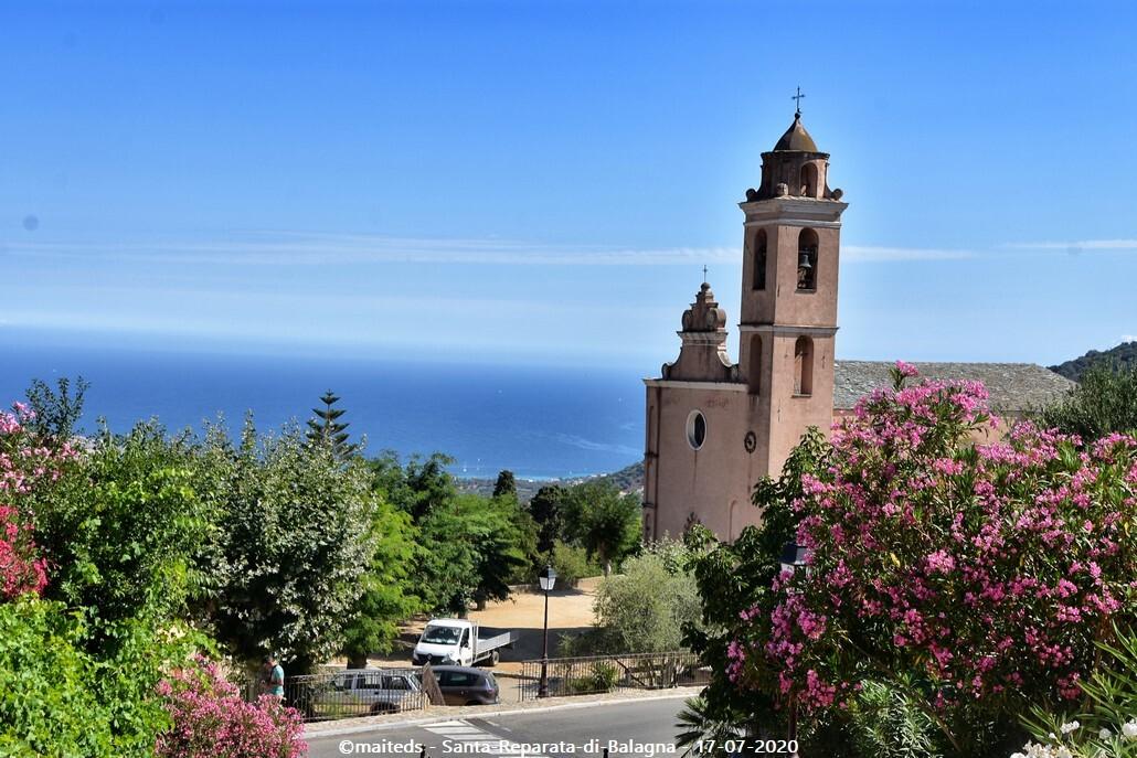Ghjesgia paruchjale di Santa-Riparata -  Corse
