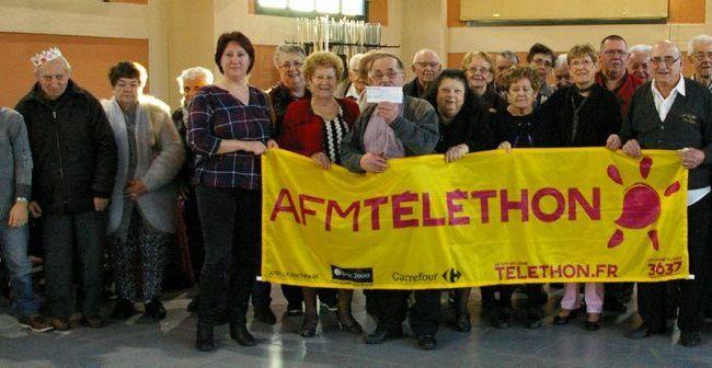 Les rois et reines de la Bonne Humeur ont posé pour le Téléthon.