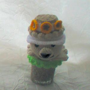 Cache-cache Louise au crochet