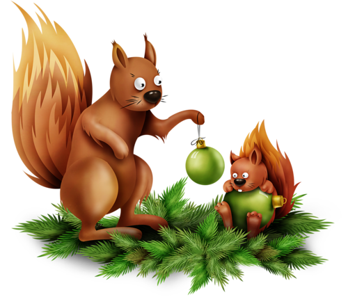MRD_FrostyFriends_brown squirrels-family.png