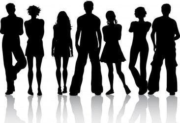 """Résultat de recherche d'images pour """"adolescent silhouette"""""""
