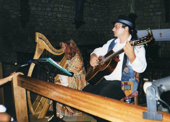 Duo harpe et guitare