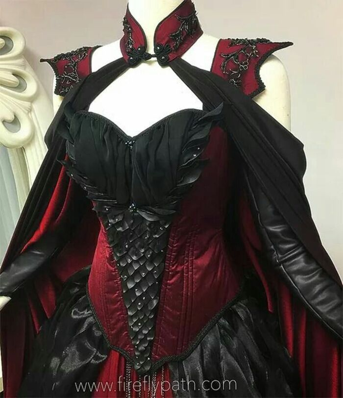 Les goths aiment le velours et le satin