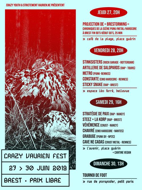CRAZY VAURIEN FEST