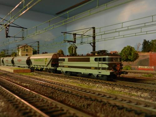 """Changement sur le réseau """"Chaniac""""= Ligne électrifiée 1500V."""