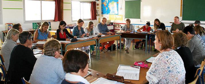 Jeudi matin, les enseignants des écoles catholiques du réseau de la Marion étaient réunis pour finaliser le projet commun et les animations en relation pour cette nouvelle année scolaire.