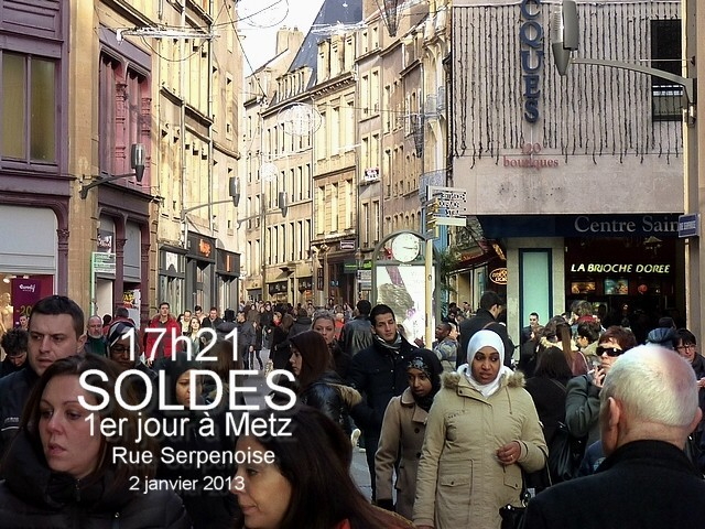 Soldes janvier 2013 Metz 2 Marc de Metz 04 01 2013