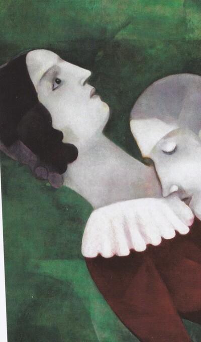 Chagall 12 /   1917-les portes du cimetière