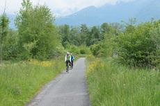Itinéraire Le Bouveret /Villeneuve (Suisse)