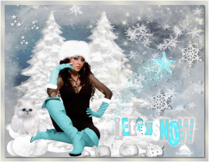 De la neige pour Noel.....