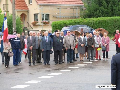 Champagney: 72ème anniversaire de la libération d'Éboulet le samedi 1er octobre 2016