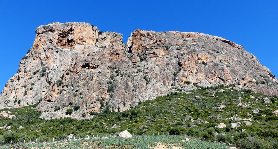 Le rocher du Gozzi........