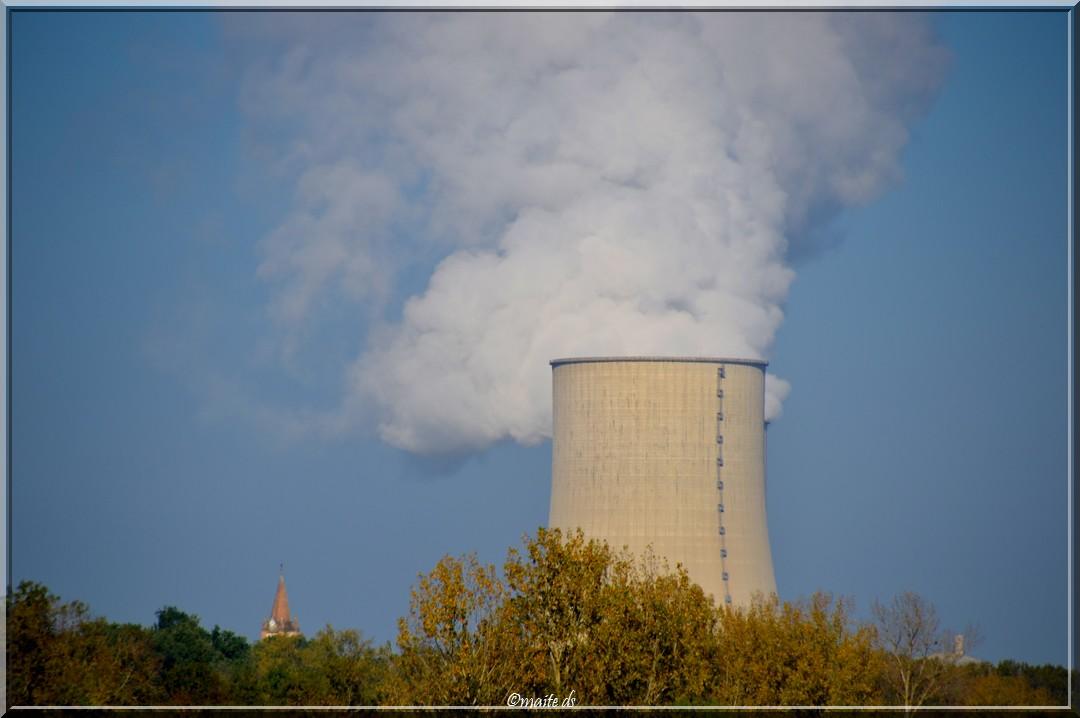 Centrale nucléaire de Golfech - Tarn-et-Garonne - 29-10-2014