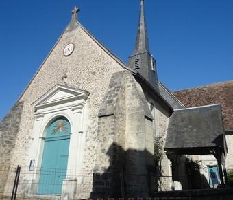 Eglise de villedomer 37110