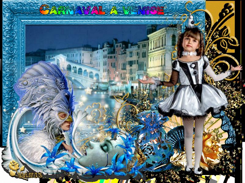 Pour le défi de Lilimaya **Carnaval a Venise**