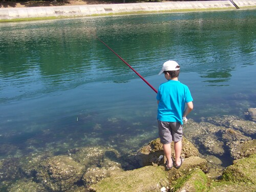 Pêche à canal de Capbreton