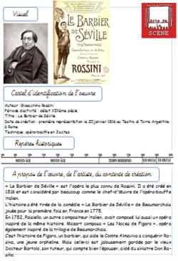 Nouvelle dictée escalier - Le Barbier de Séville de Rossini