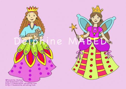 cahier fées et princesses
