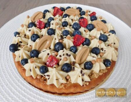 Moelleux pâtissier aux myrtilles
